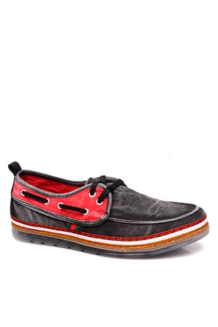 Red Men's Shoes4543