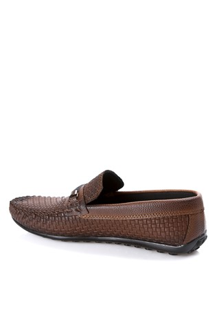 Leather Men's shoes Brown  2019136