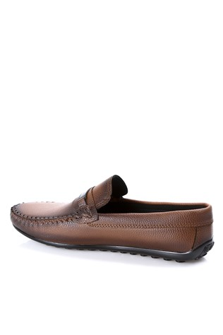 Leather Men's shoes Brown  2019137