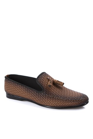 Leather Men's shoes Brown  2019139