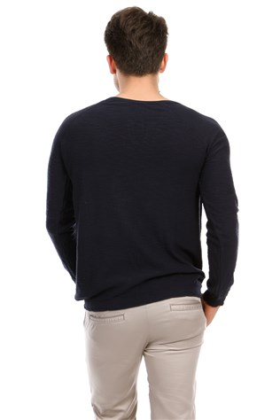 Lee Ecosse 001 Men's Dark Blue Sweatshirt