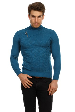 Lee Ecosse 60370 Men's Blue Sweater