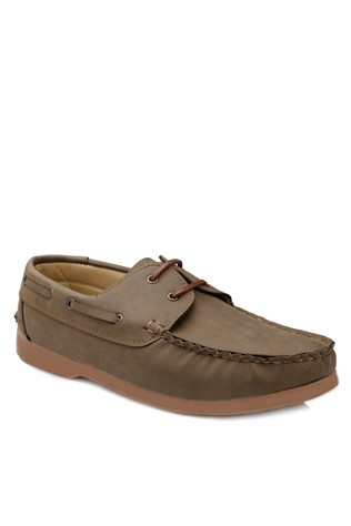 Light-Brown Leather Moccasins 2018117