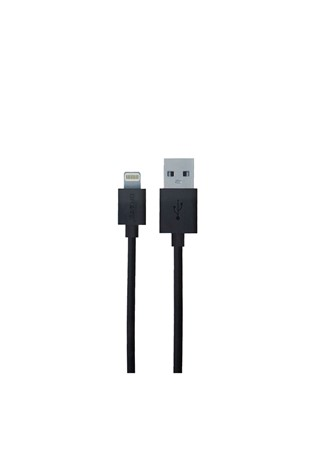 LIGHTNING TO USB CABLE-Μαύρα 734302