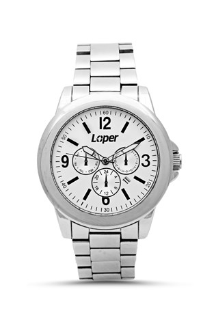 Loper Lp 08869b-01 Silver watch