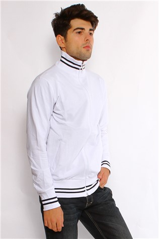 Maccali 2025 Men's White Sweatshirt