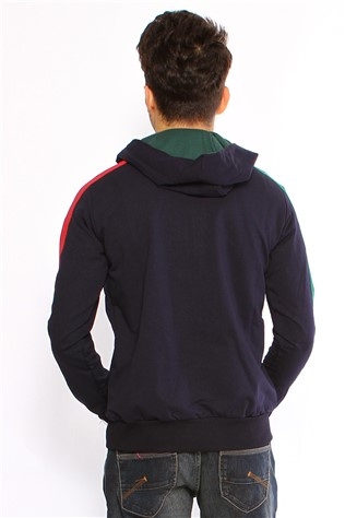 Maccali 2031 Men's Dark Blue Sweatshirt