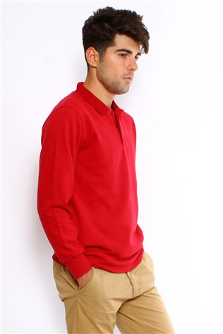 Maccali 2059 Red Sweatshirt
