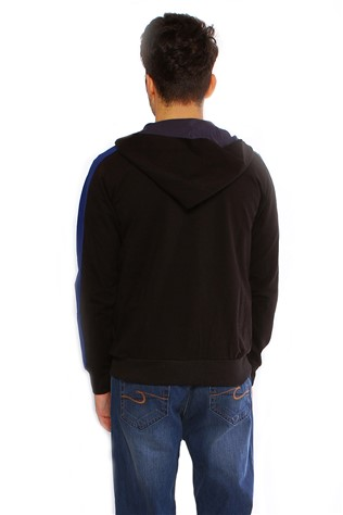 Maccali 2097 Men's Black Sweatshirt