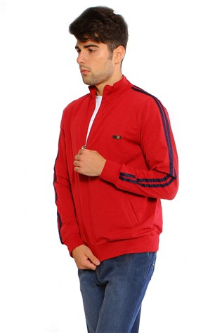 Maccali 2103 Men's Red Sweatshirt