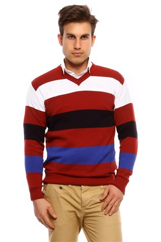 Maccali Men's Red Sweatshirt163