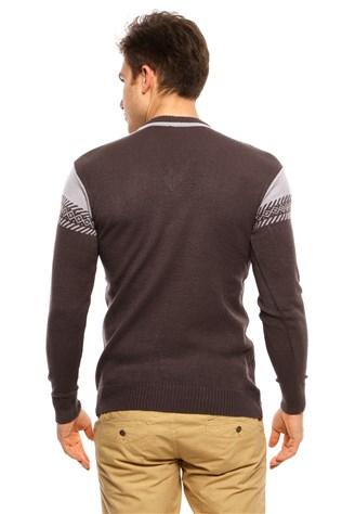Maccali 3013 Men's Anthracite Sweater