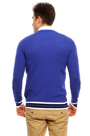 Maccali Men's Blue Sweatshirt 3016