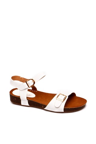 Melody 6192-1 White Women's Shoe