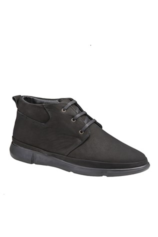 Men's Boots Nabuk Black 202044