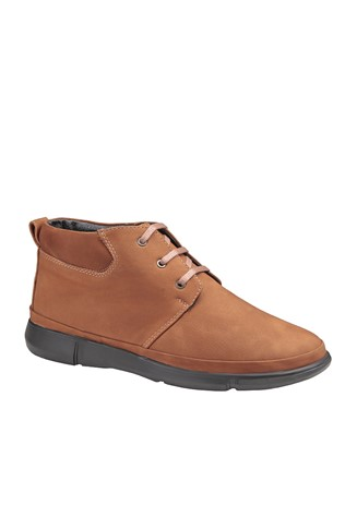 Men's Boots Nabuk Light Brown 202046