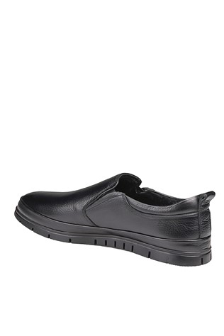 Men's Casual Leather Shoes Black 202057