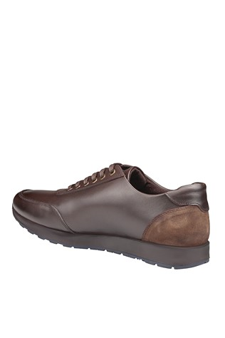 Men's Casual Leather Shoes Brown 202059
