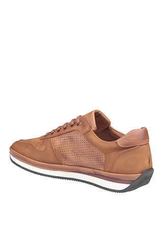 Men's Casual Leather Shoes Light Brown 202067