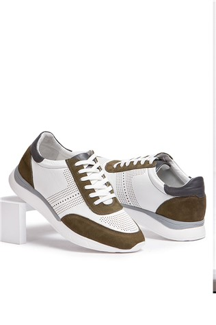 Men's casual shoes - bilí and brown  2021655