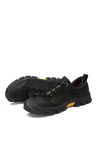 Men's Casual Shoes Dark Black 202299