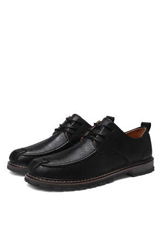 Men's Casual Shoes Dark Black 202301