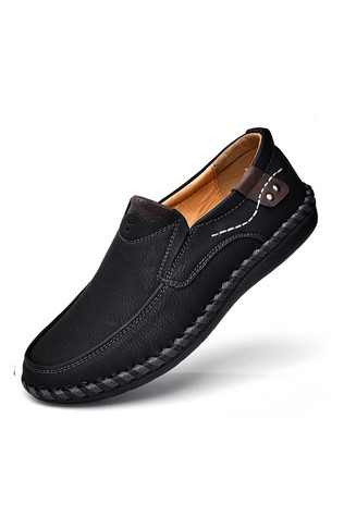 Men's Casual Shoes Dark Black 202334