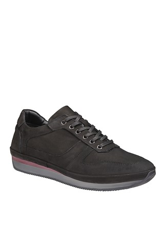 Men's Casual Shoes Nabuk Black 202072