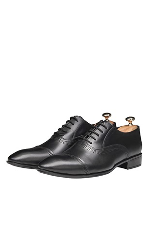 Men's Elegant Shoes Black 202086