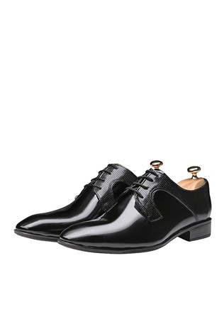 Men's Elegant Shoes Black 202114