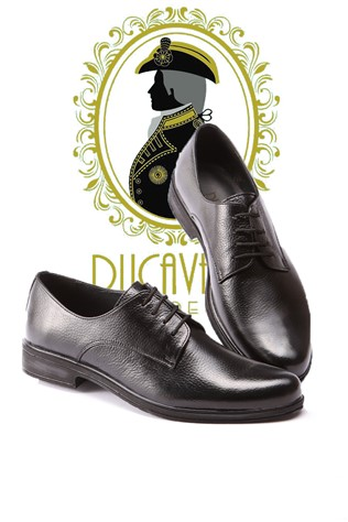 Men's Elegant Shoes Black 202166