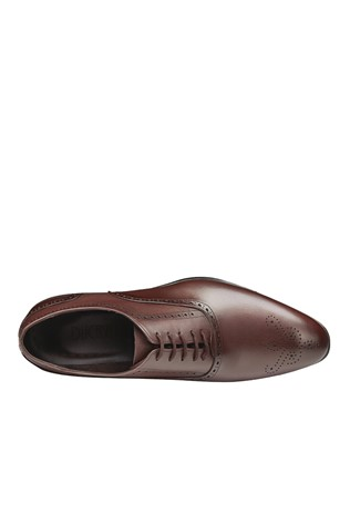 Men's Elegant Shoes Brown 202092