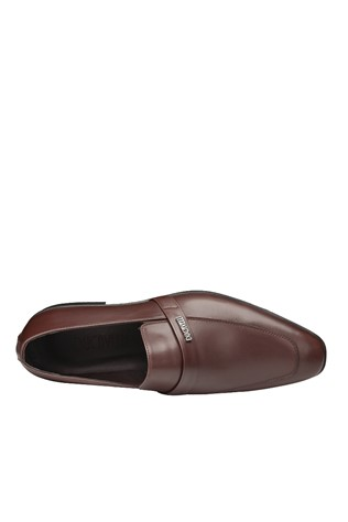 Men's Elegant Shoes Brown 202095