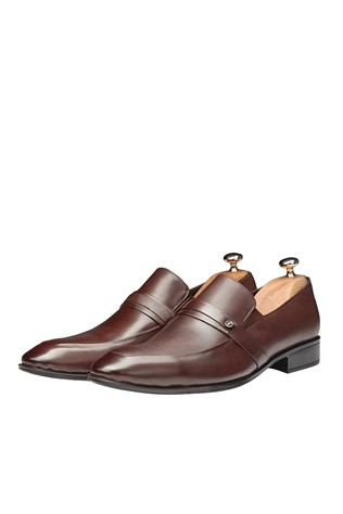 Men's Elegant Shoes Brown 202110