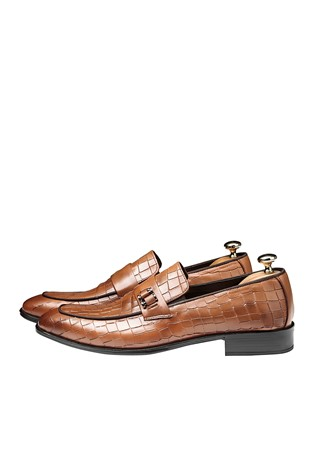 Men's Elegant Shoes Brown 202130