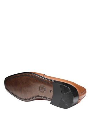 Men's Elegant Shoes Brown 202139