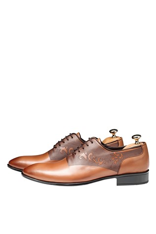Men's Elegant Shoes Brown 202143
