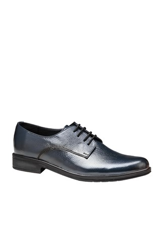 Men's Elegant Shoes Dark Blue 202159
