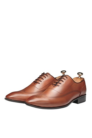 Men's Elegant Shoes Light Brown 202085