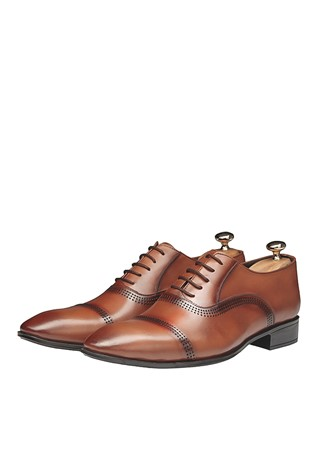 Men's Elegant Shoes Light Brown 202088