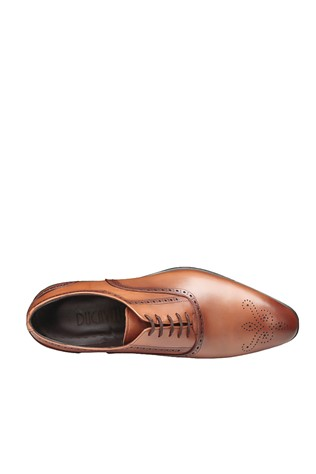 Men's Elegant Shoes Light Brown 202094