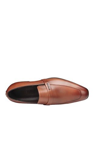 Men's Elegant Shoes Light Brown 202097