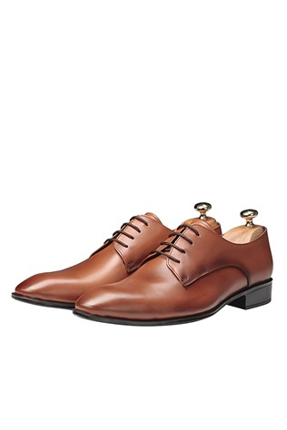 Men's Elegant Shoes Light Brown 202103