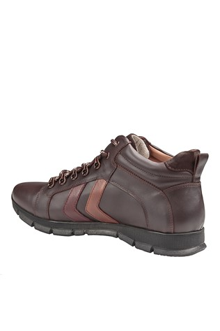 Men's Leather Boots Brown 202033