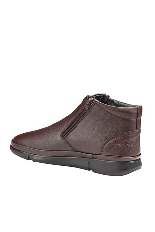 Men's Leather Boots Brown 202035