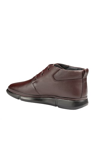 Men's Leather Boots Brown 202041