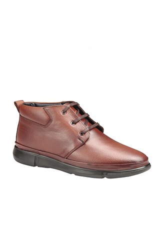 Men's Leather Boots Brown 202045