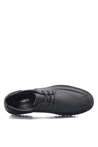 Men's leather shoes Black 203113