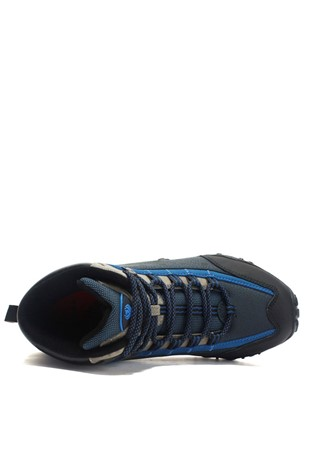 Men's Leather Travel Shoes Blue 202232