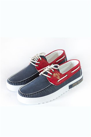 Men's shoes - Blue and red 9412  9979244